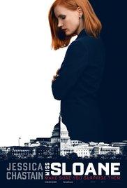 Miss Sloane film poster