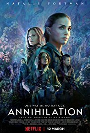 Annihilation on Netflix film poster