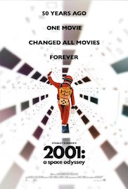 2001: A Space Odyssey film poster