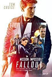Mission Impossible Fallout film poster