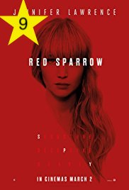 Red Sparrow on AppleTV film poster