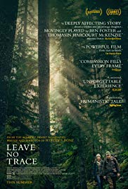 Leave No Trace film poster