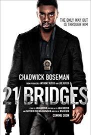 21 Bridges film poster