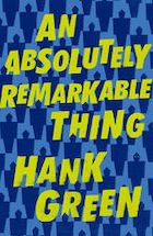 An Absolutely Remarkable Think Book Cover